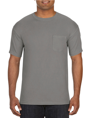 CF201 Adult Heavyweight Pocket Tee