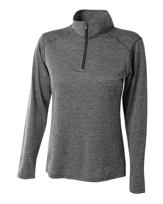 A4029 A4® Women's Inspire Space Dye Quarter Zip