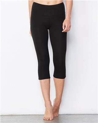BL004 Cotton/Spandex Capri Legging